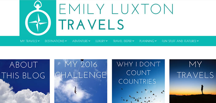 Emily Luxton - English Travel Blogger