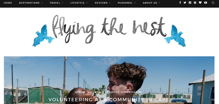 Flying The Nest travel blogger
