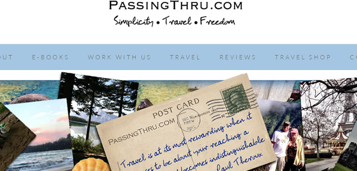Passing Thru | Australian Travel Bloggers