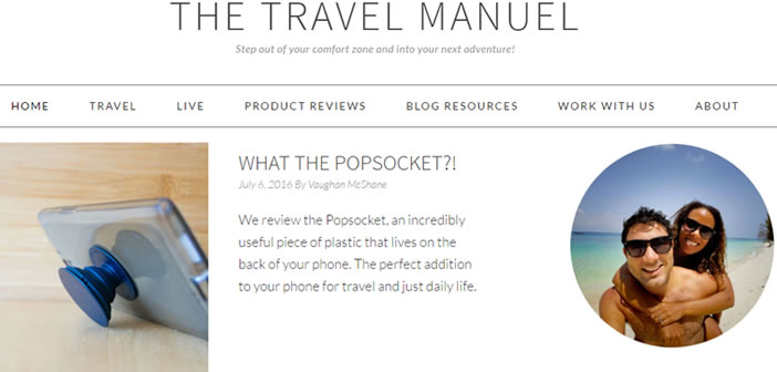 The Travel Manuel - Travel Blog